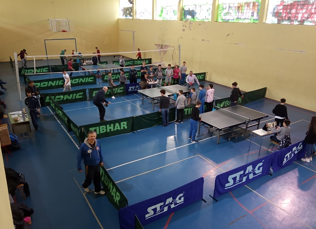 gymnasia ping pong